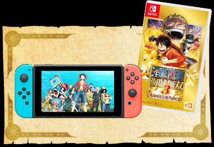Soldes 2019 : One Piece Pirate Warriors 3 sur Switch à 4,99 euros (au lieu de 29,99...)