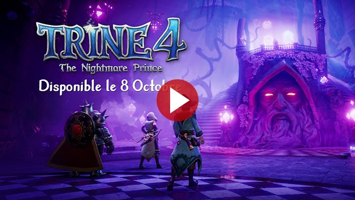 Trine 4 - The Nightmare Prince : Il arrive le 8 octobre sur PlayStation 4, Xbox One, Nintendo Switch et PC