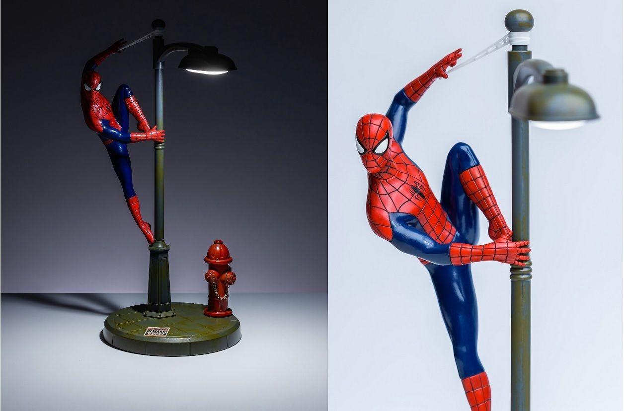 Notre sélection GEEK du jour : Lampe de bureau Spider-Man de chez ZAAVI ! - 30/05