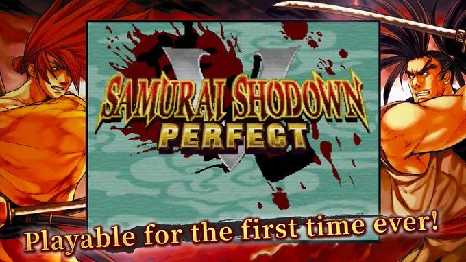 Samurai Shodown NeoGeo Collection : L'intégrale de la saga sur Playstation 4, Switch et PC