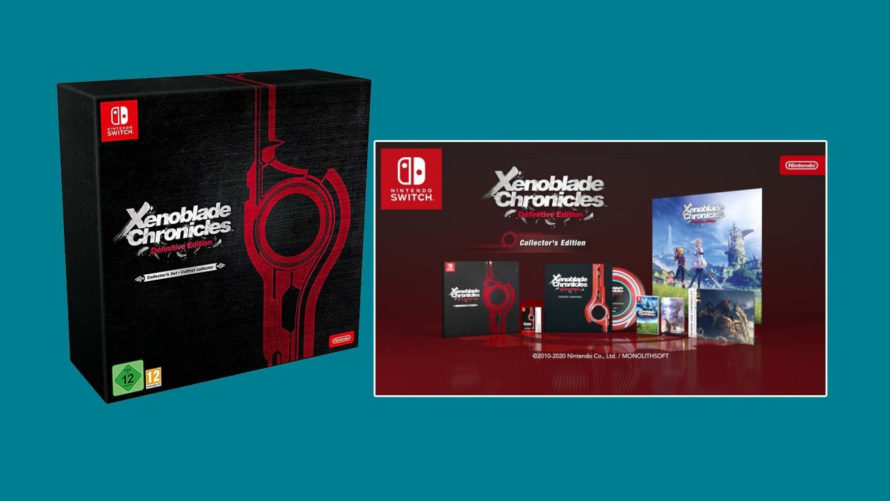 Précommander l'édition collector de Xenoblade Chronicles Definitive Edition sur Switch... c'est encore possible !