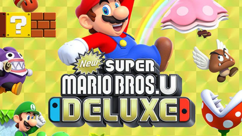 Bon plan Précommande : New Super Mario Bros.U Deluxe sur Nintendo Switch !
