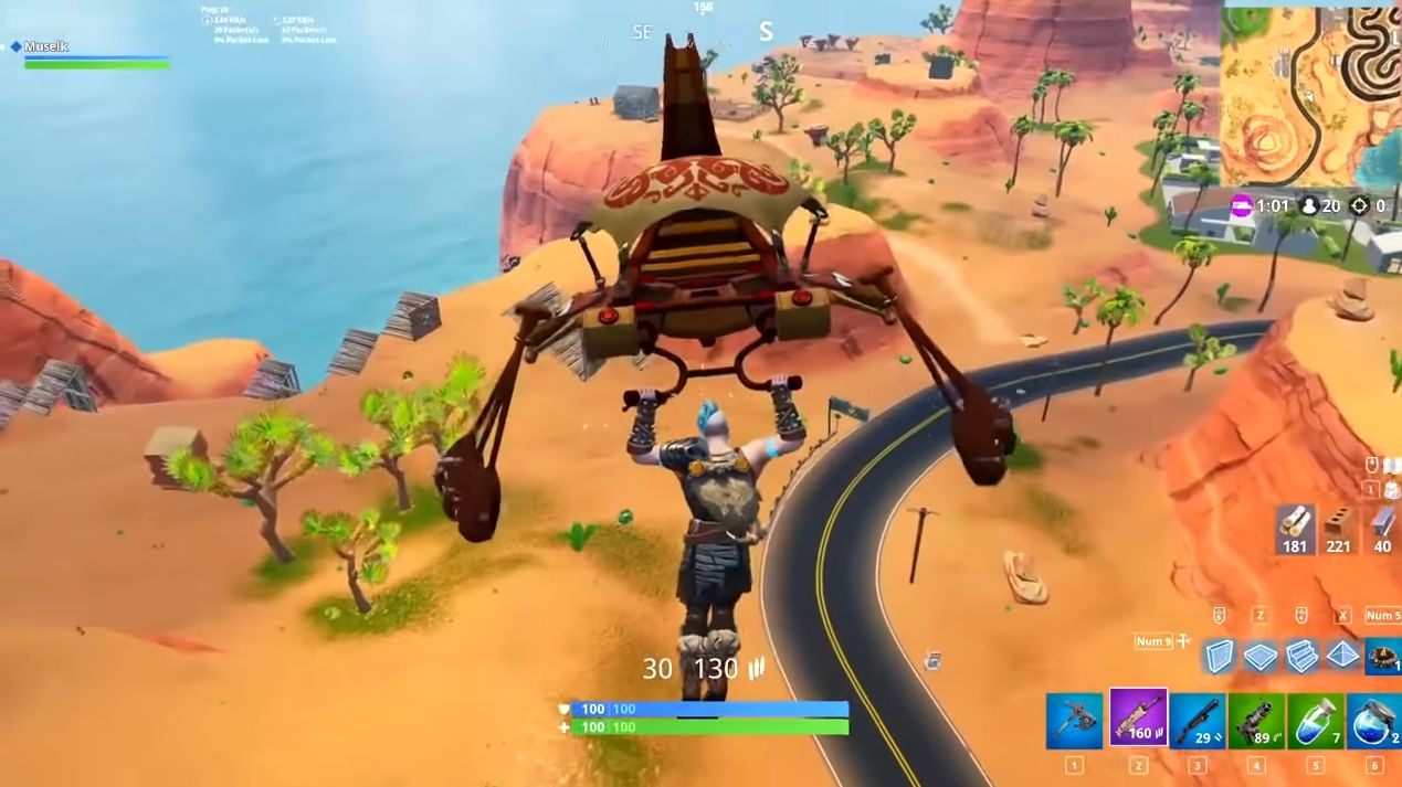FUN : Fortnite....et la pierre tombale de Chappadoodle !
