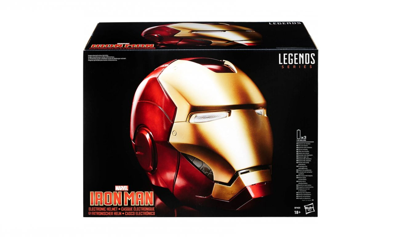 Précommande Geek :  Le casque de Iron Man – Marvel Legends Series Hasbro