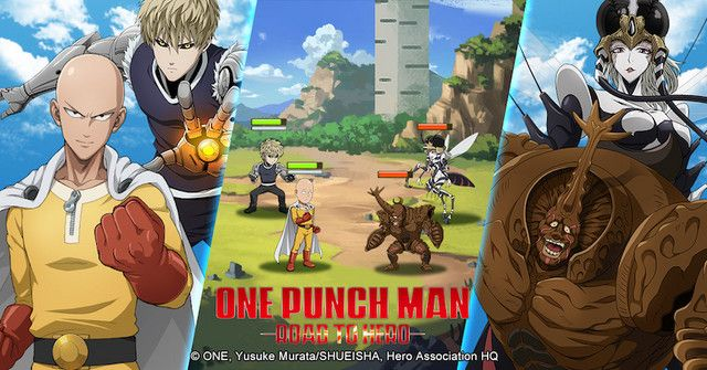 One Punch Man - Road To hero : Annonce du jeu et pré-inscription !