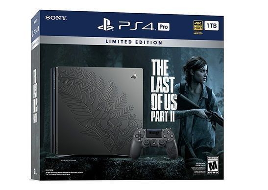 [EDIT] STOCK : La console PS4 PRO 1 To de The Last of Us 2 en édition limitée
