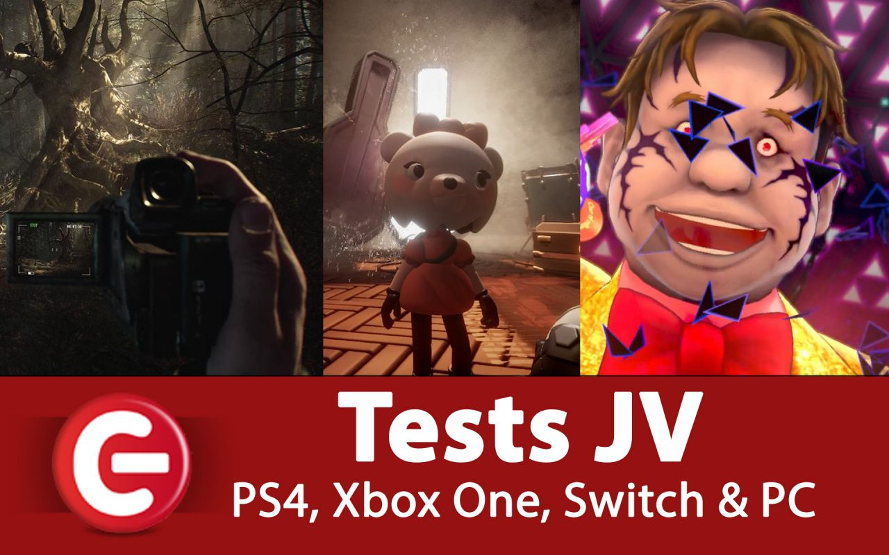 Nos derniers TESTS de JEUX VIDEO - PS4, Xbox One, Switch et PC