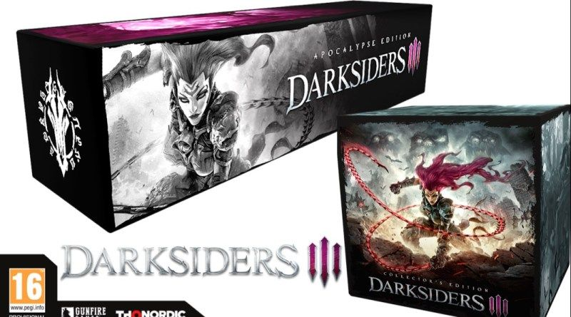 UNBOXING : L'édition Apocalypse de Darksiders III