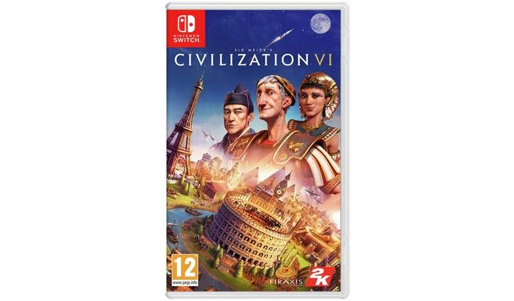 Bon Plan : Civilization VI sur Nintendo Switch à 29,99 euros (au lieu de 59,99...)