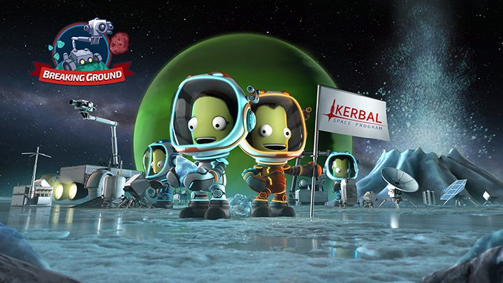 Kerbal Space Program Enhanced Edition - Breaking Ground Expansion : Disponible sur PlayStation 4 et Xbox One