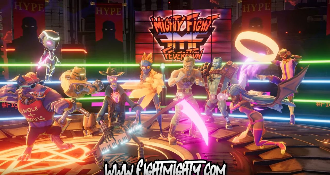 Mighty Fight Federation : trailer d'annonce