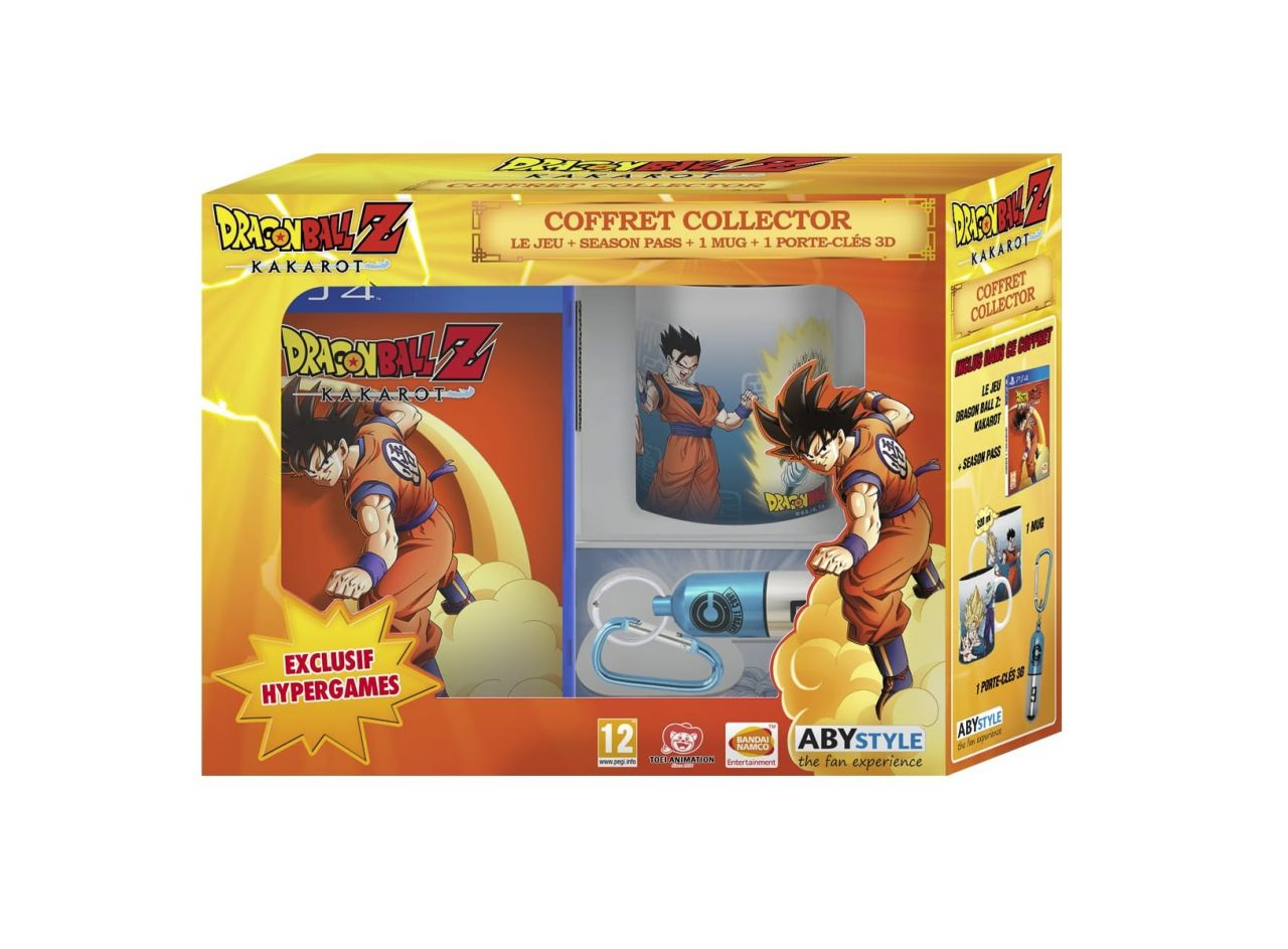 Précommande : Dragon Ball Z: Kakarot PS4 Coffret Collector - Exclusivité Auchan