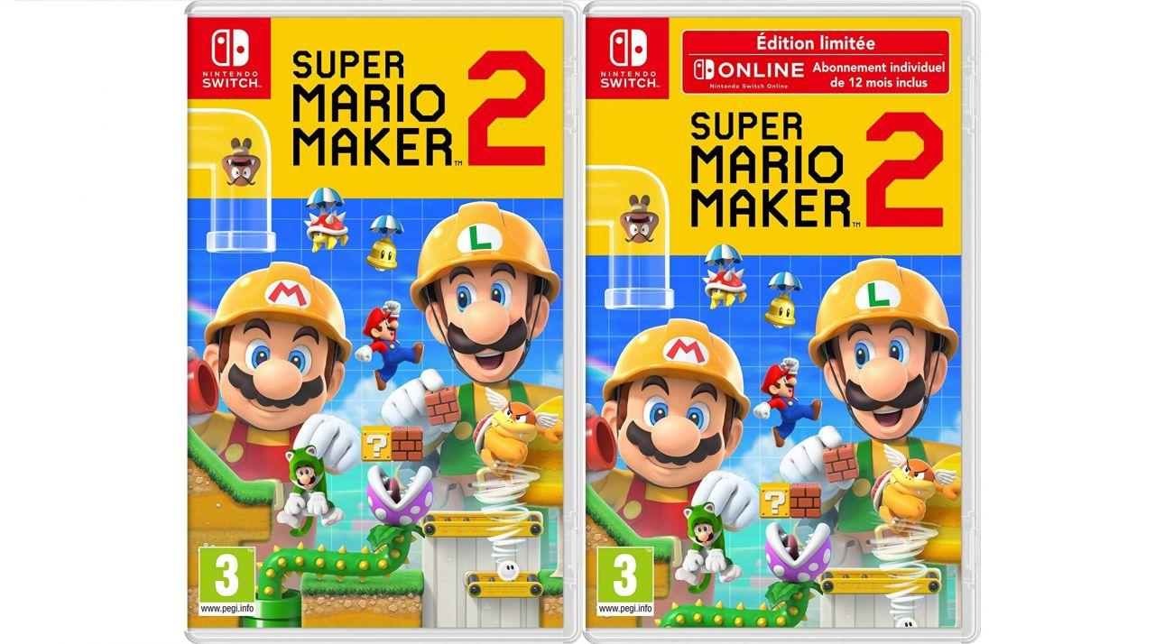 Bon Plan Amazon : Super Mario Maker 2 sur Switch à 45,99 euros (au lieu de 59,99...)