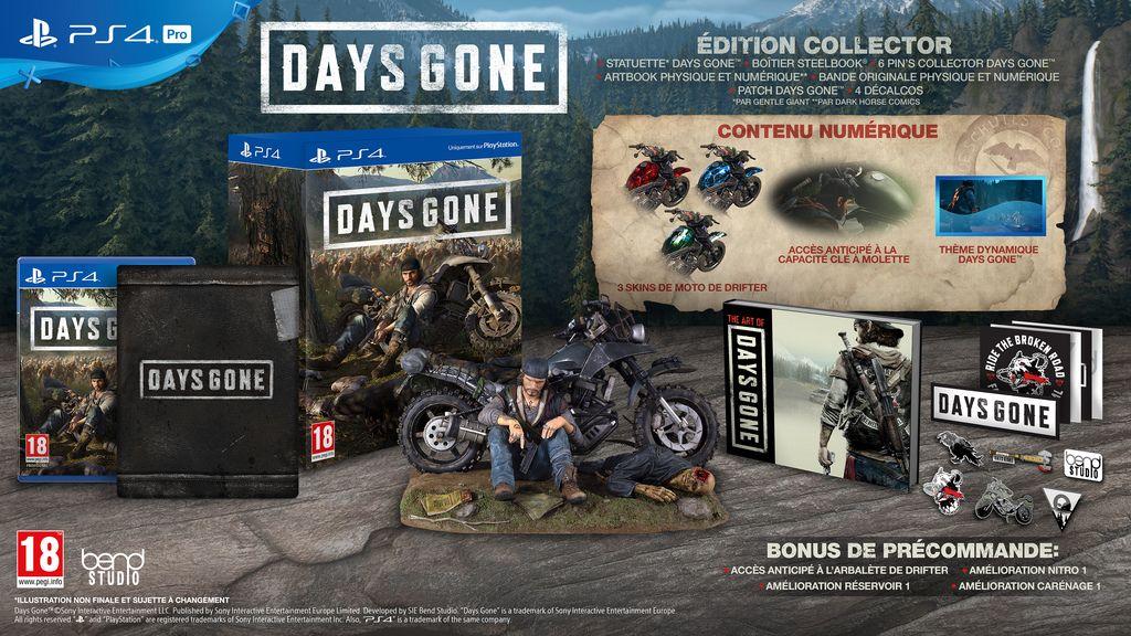 Précommande : L'édition collector 'hyper limitée' de Days Gone sur Playstation 4