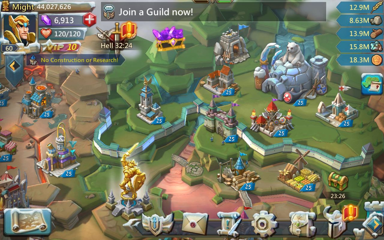 Lords Mobile : Guerre des Royaumes - image