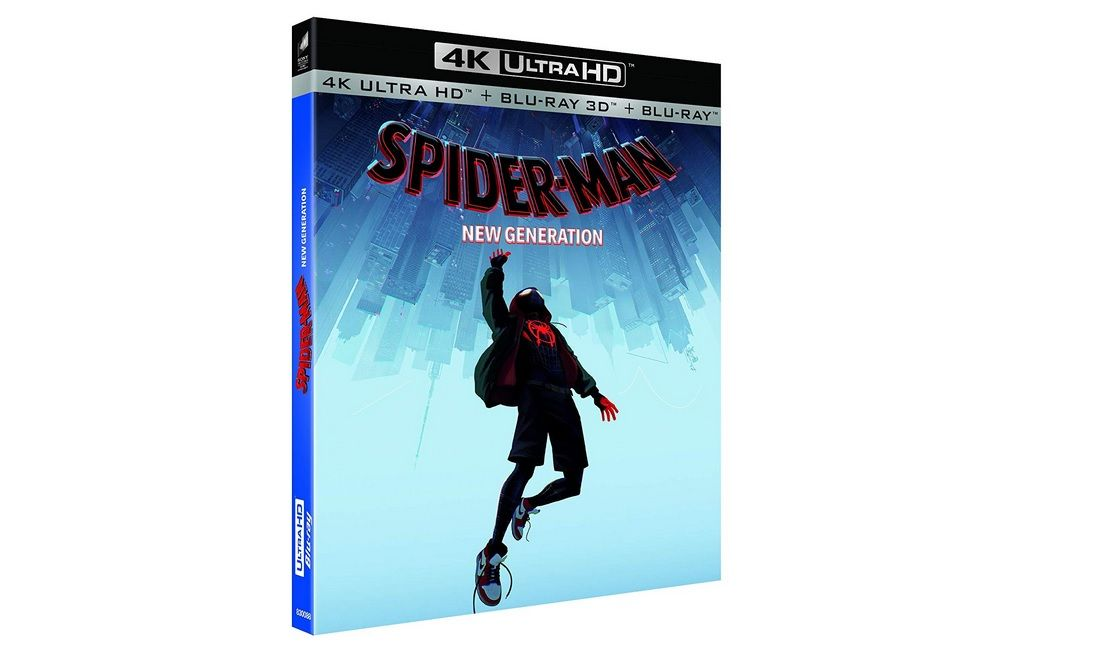 Bon Plan : Spider-Man: New Generation – Blu-ray 4K Ultra HD à 19,99 euros (au lieu de 29,99...)