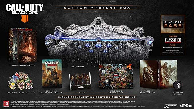 Bon Plan : Call Of Duty Black Ops 4 Edition Mystery Box à 79,99 euros (au lieu de 219,99...)