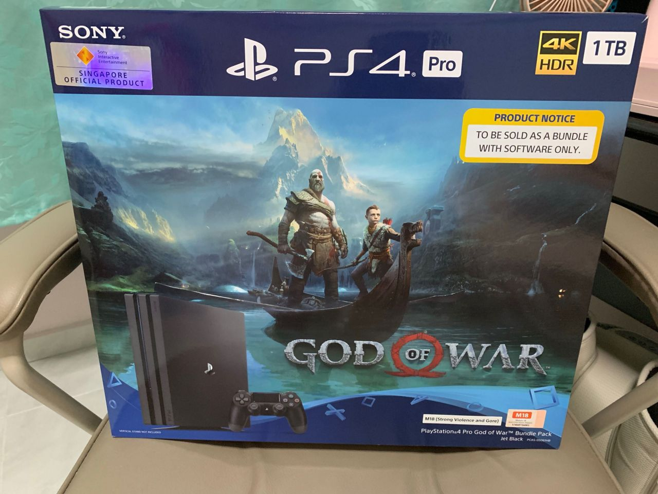 Bon Plan AMAZON : Bundle PS4 PRO 1 To + God Of War à 340,23 euros !