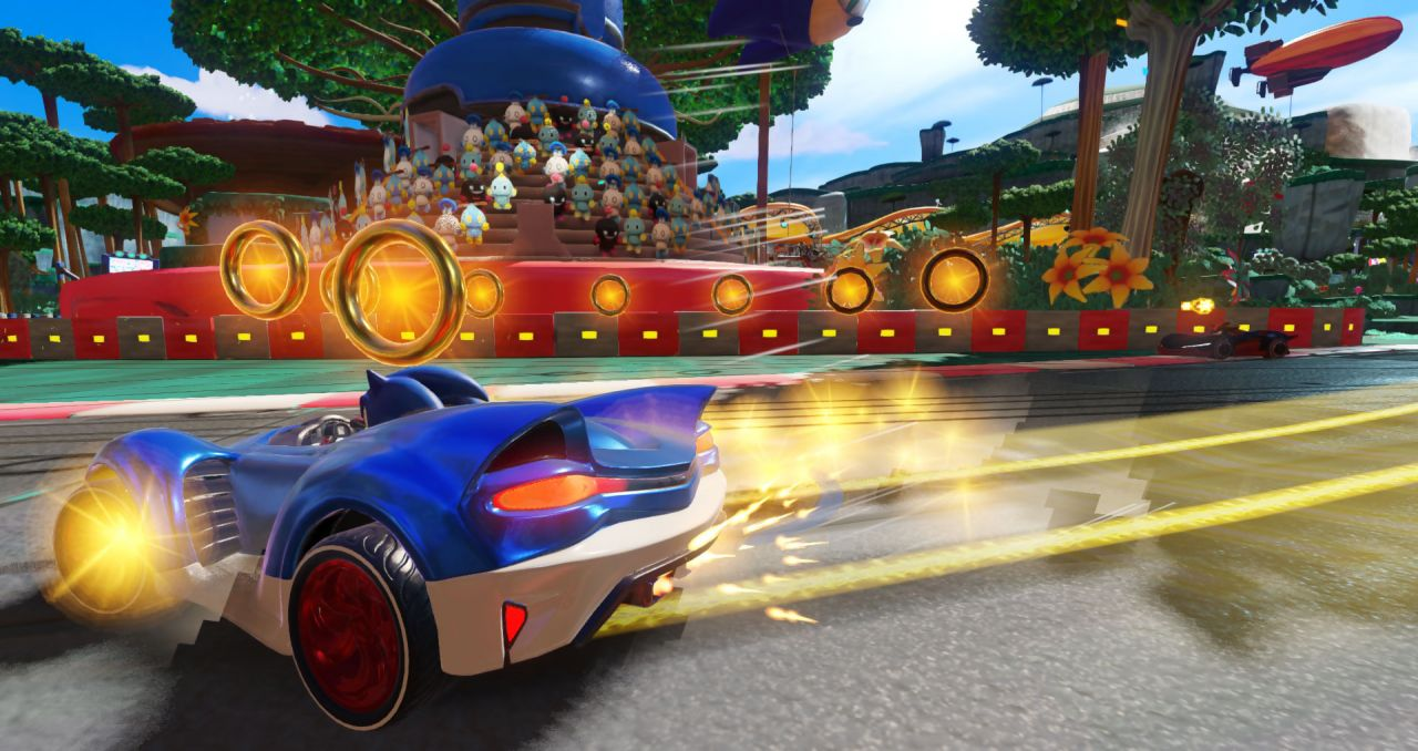 Team Sonic Racing : Un trailer de gameplay est dévoilé