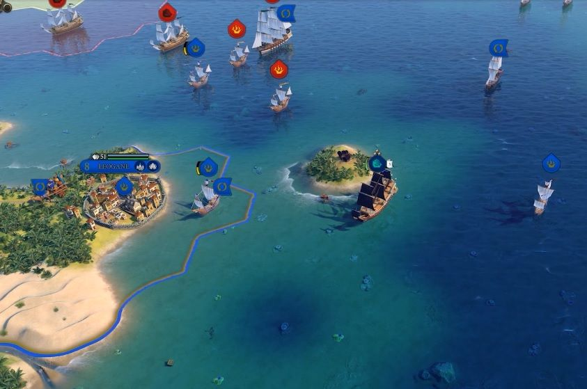 Civilization VI : Mise à jour d'octobre 2020 - Mode Pirates