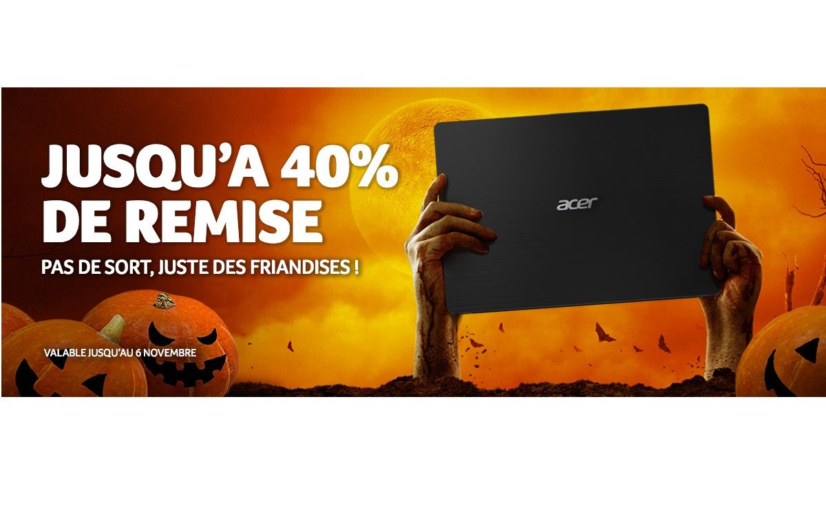 ACER : Les deals de Halloween !