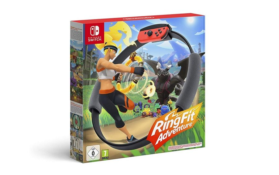 Bon Plan : Ring Fit Adventure sur Switch à 58,90 euros (au lieu de 82,99...)