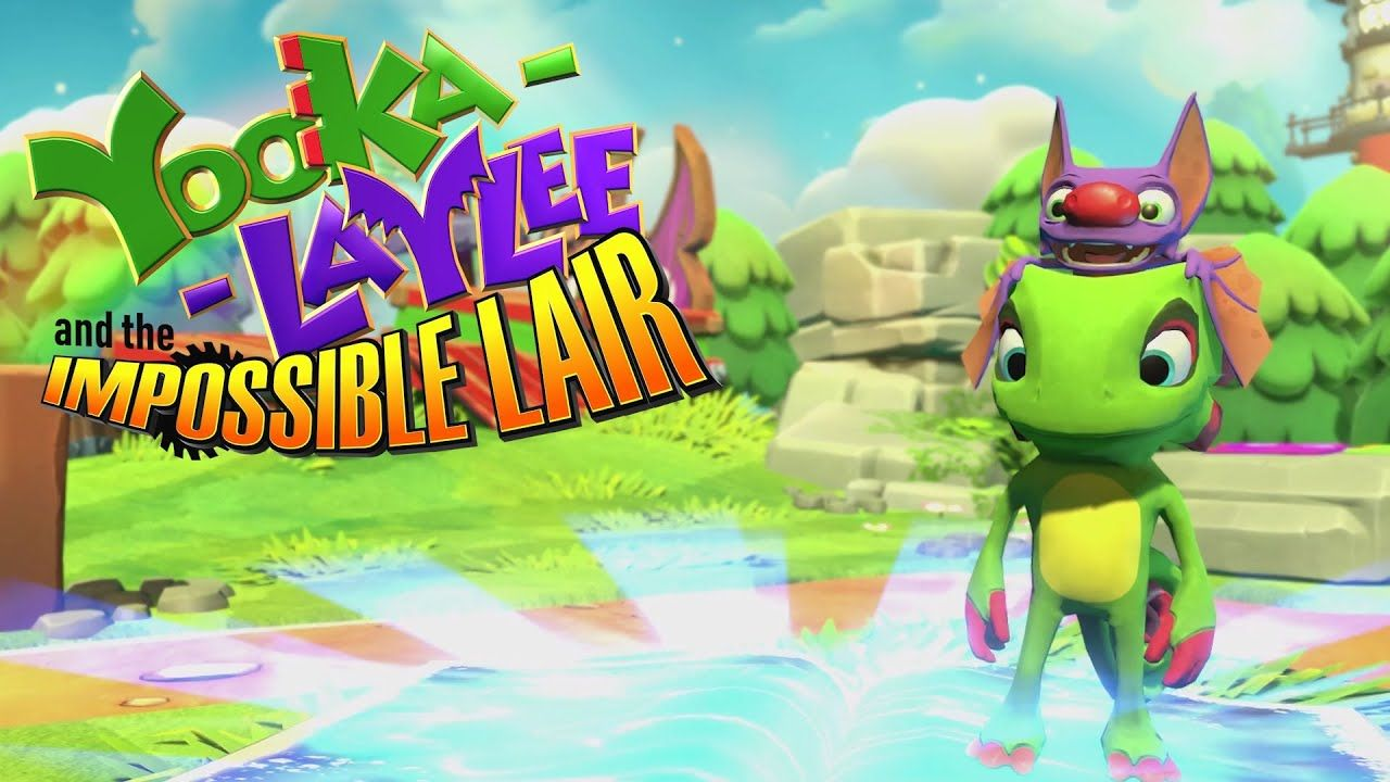 Yooka-Laylee and the Impossible Lair : Une annonce E3 pour conquérir les fans de Donkey Kong Country !