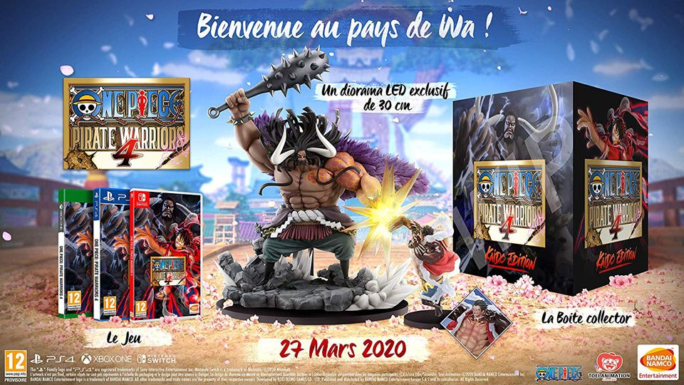 Précommande : Edition collector de One Piece Pirate Warriors 4 sur PS4 et Xbox One !