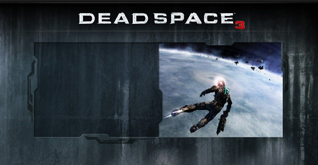 Dead Space 3 : logo et screenshot !