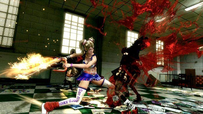 Lollipop Chainsaw : Le trailer sanglant