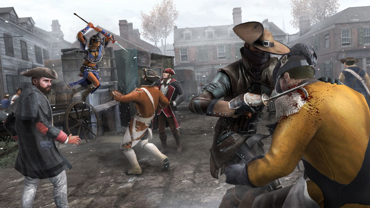 Assassin's Creed 3 : Un mode coopération !