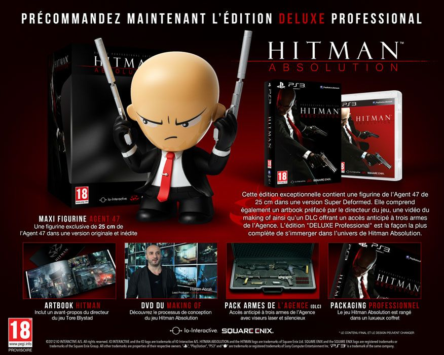 Hitman Absolution : Unboxing Deluxe Professional Edition