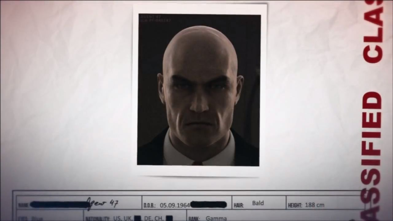Hitman Absolution : Dossier ICA de l'agent 47