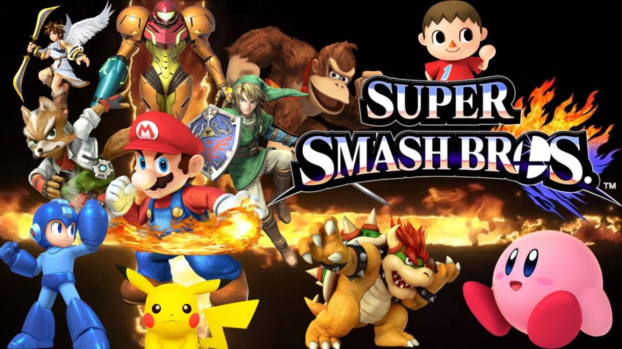 Super Smash Bros : site officiel 3DS et WiiU