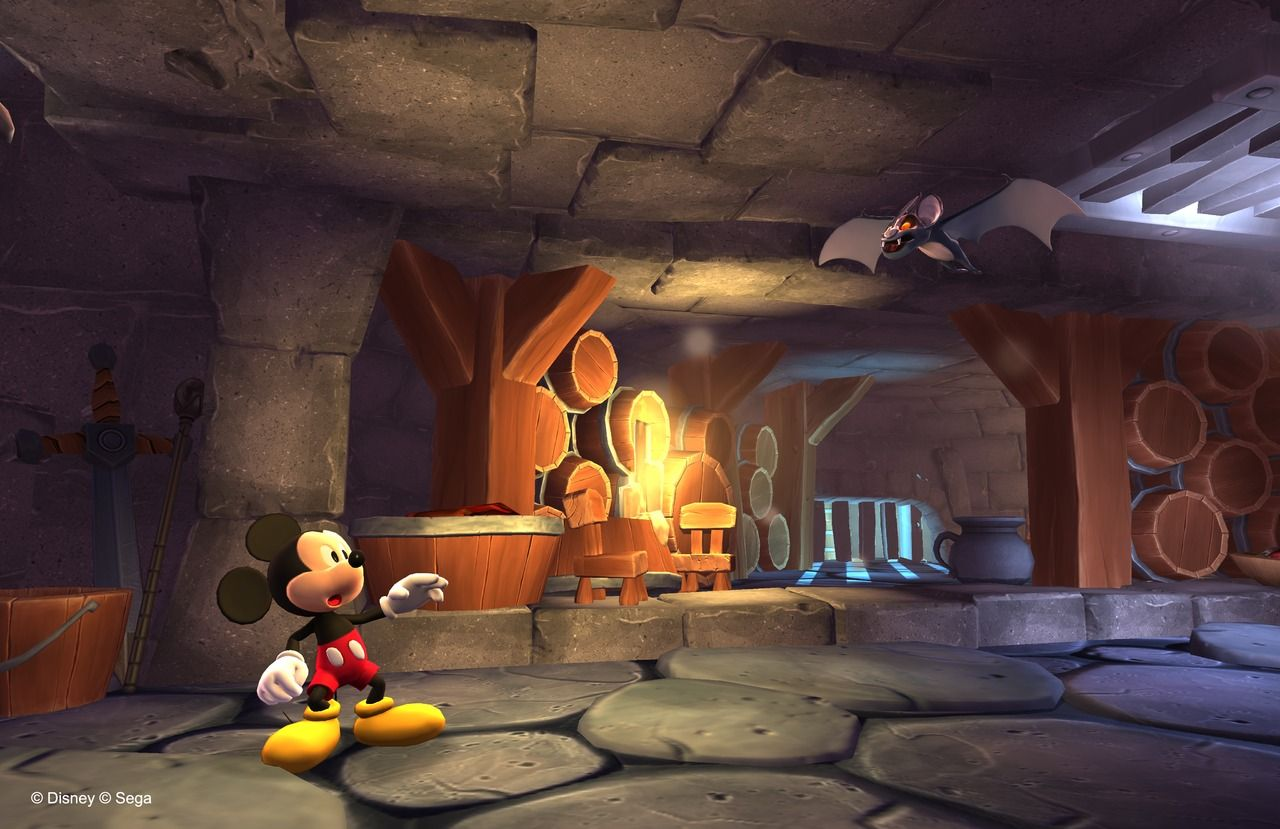 Castle of Illusion : vidéo made in SEGA