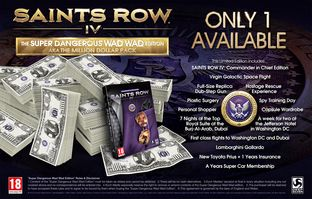 Saints Row 4 : édition collector à 1 million de dollars !