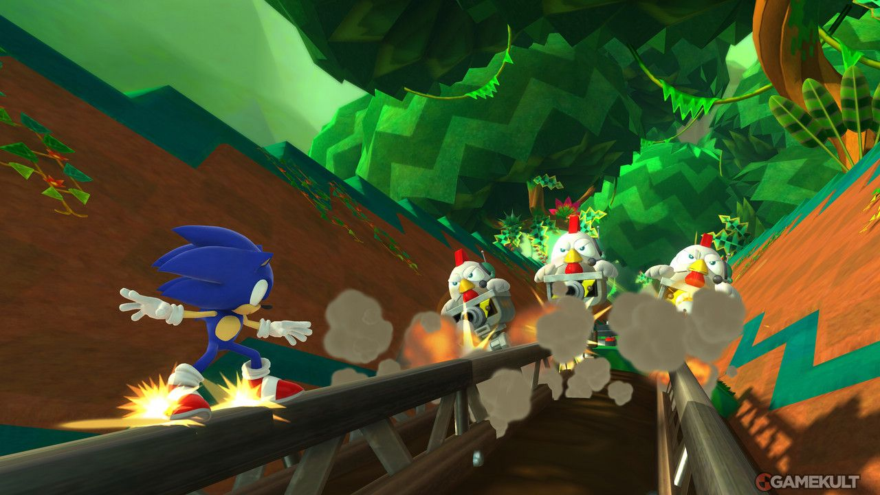 GC 2013 : Sonic Lost World se montre