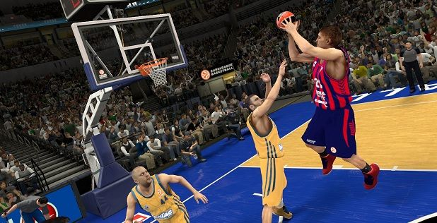 NBA2K14 : L'Euroleague est dans la place