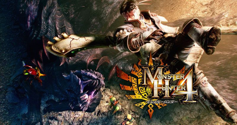 Charts Japon : Gros succès pour Monster Hunter 4 !