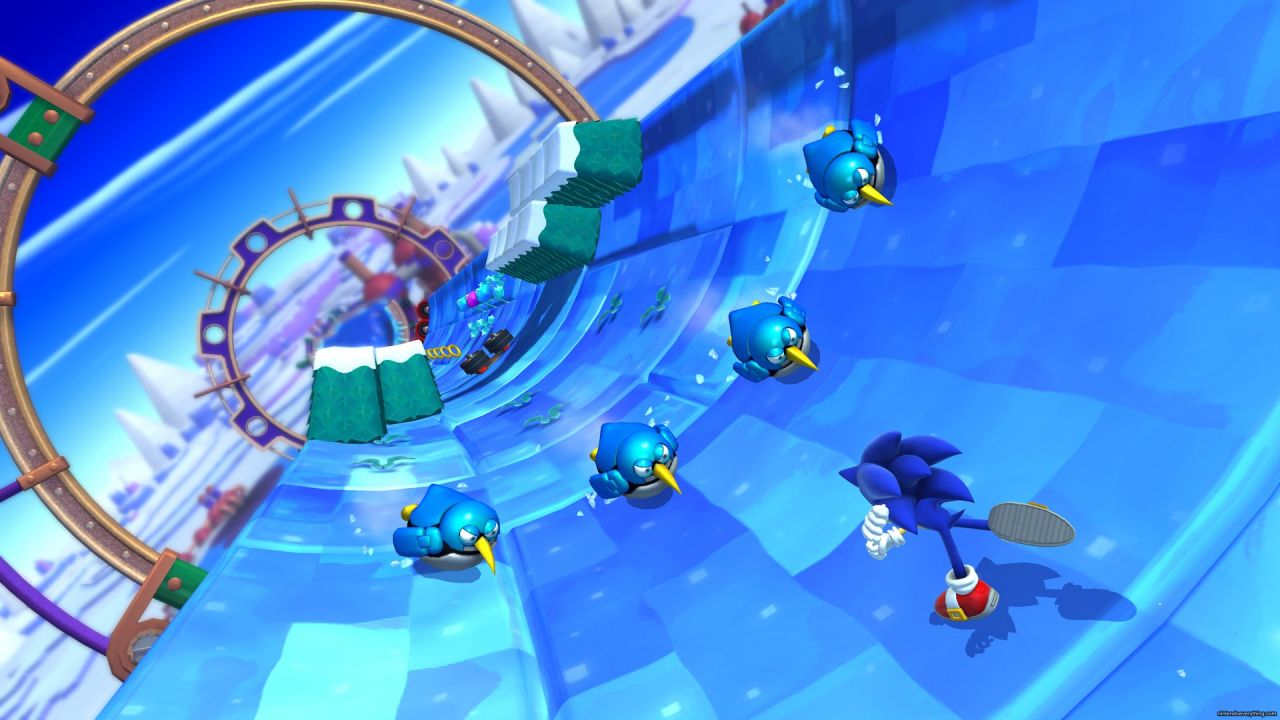 Sonic Lost World : Nouvelle vidéo de Gameplay