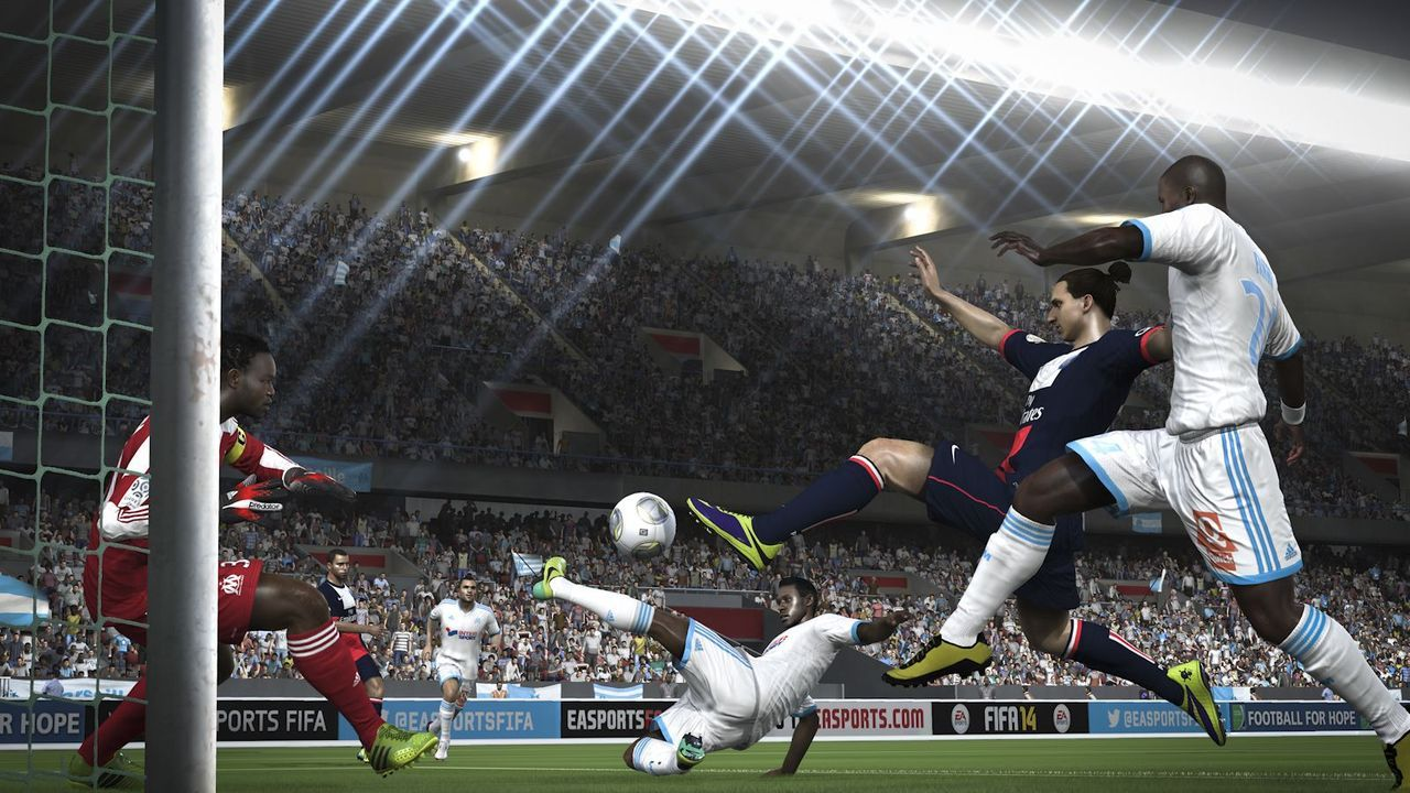 Fifa 14 : Images des versions PS4 et XBOX ONE