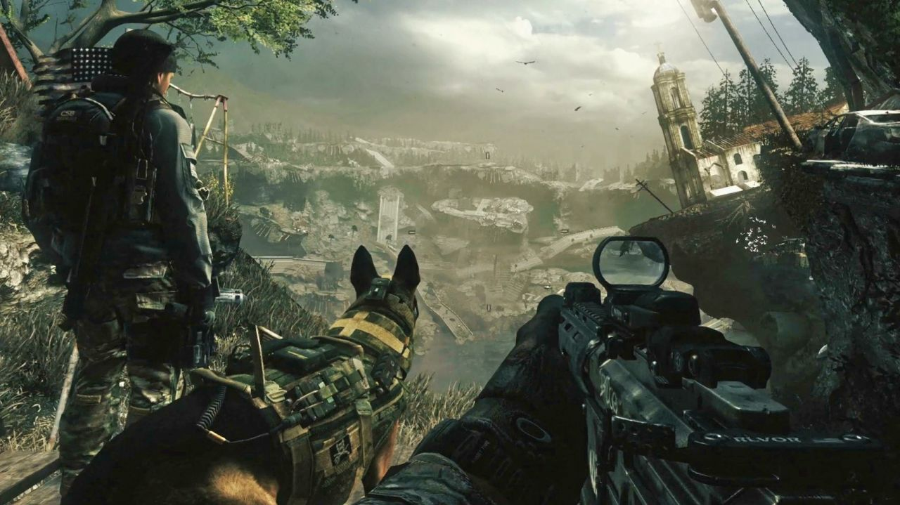 Call of Duty Ghosts : Une séquence copiée/collée de Modern Warfare 2 ??