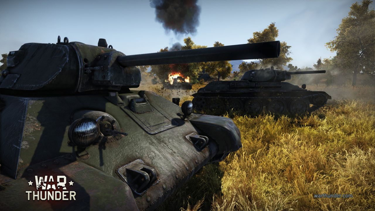 War Thunder : L'extension Groud Force se dévoile...