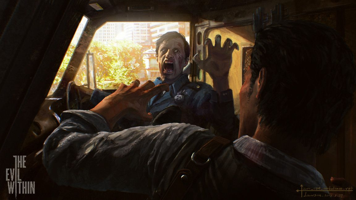 The Evil Within : Le plein d'artworks !