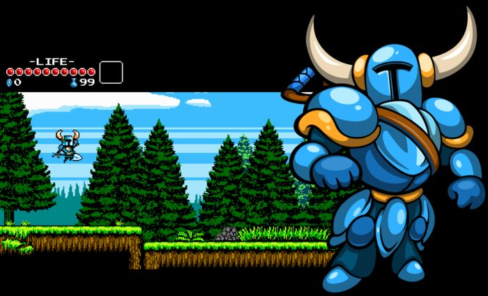 Shovel Knight : Le trailer d'un jeu old school !