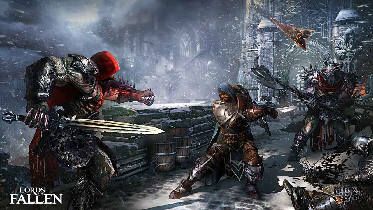 Lords of the Fallen : Du gameplay en vidéo