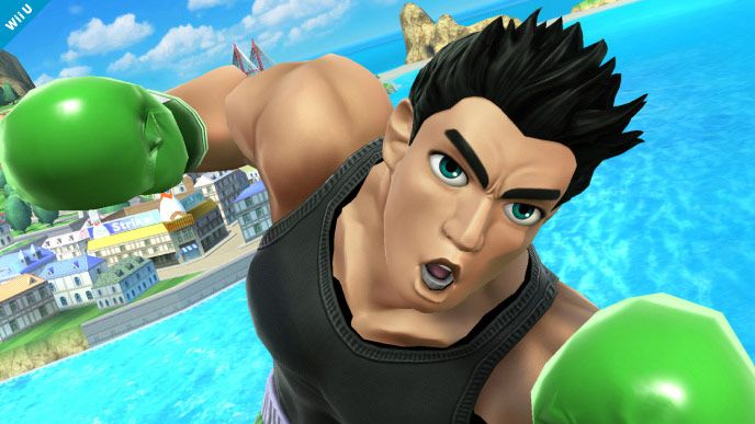 Super Smash Bros: Little Mac monte sur le ring