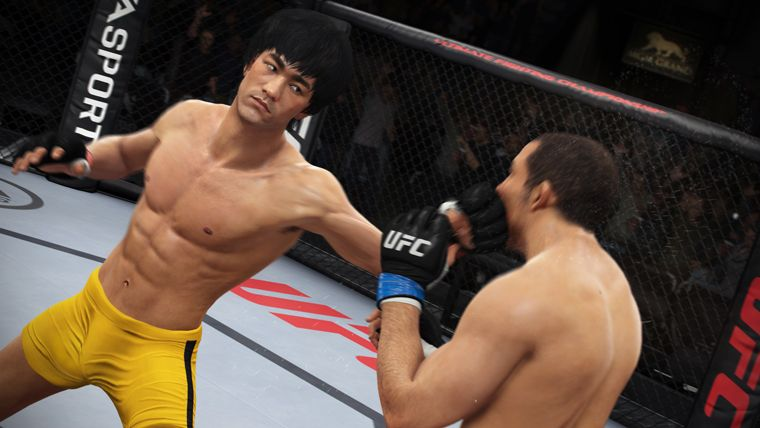 EA Sports UFC : Bruce Lee (re)monte sur le ring !