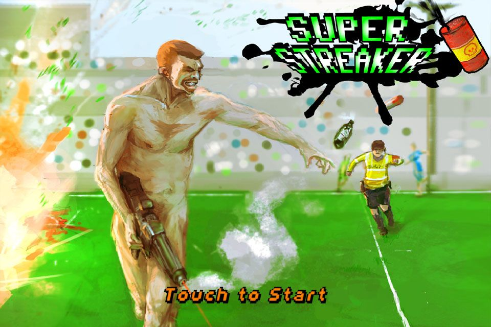 Japan Touch Haru : Super streaker, jeu indé
