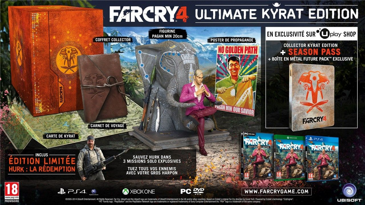 Far Cry 4 : L'édition collector se montre